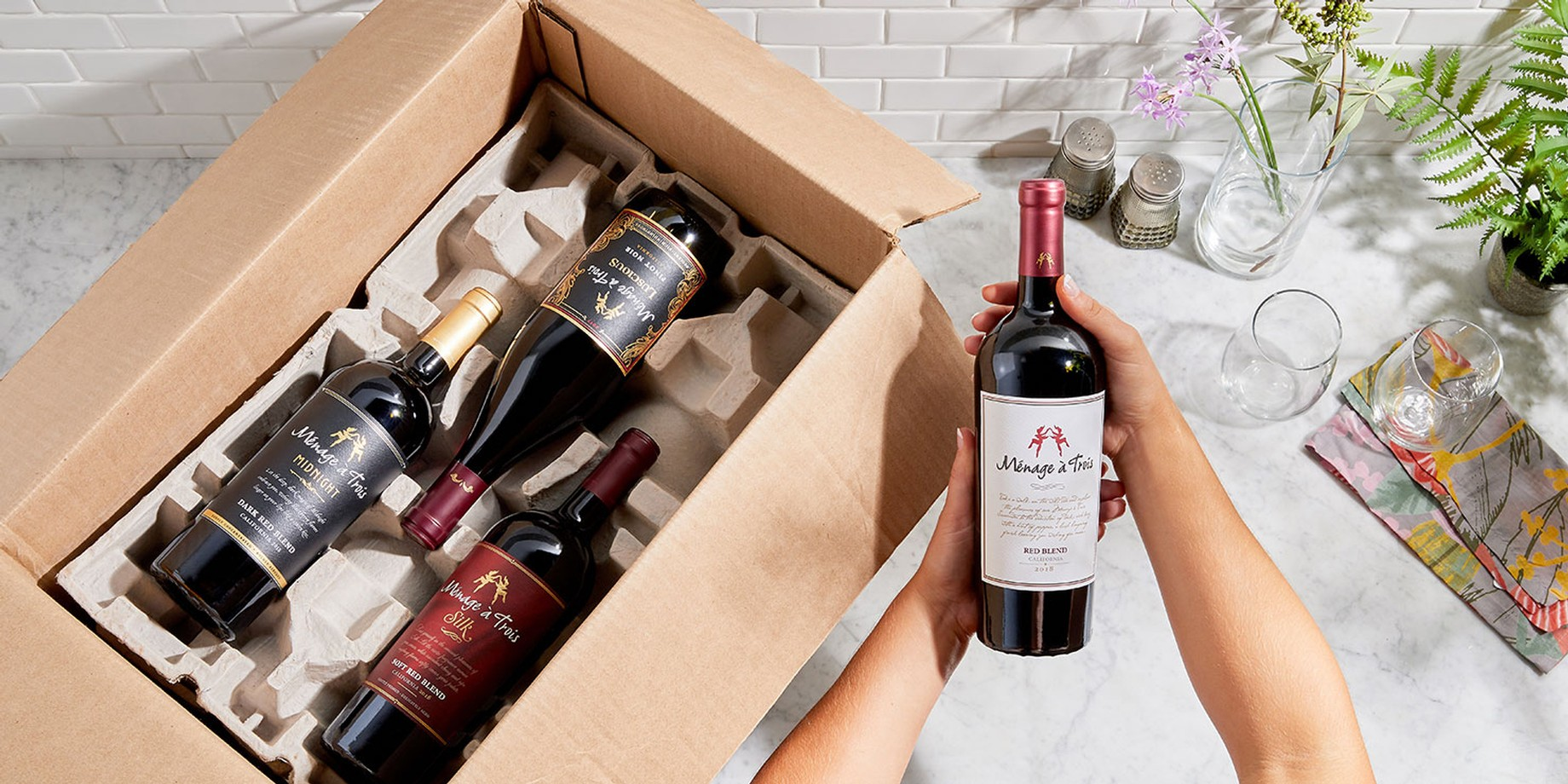 Wines shipped to you in time for the holidays