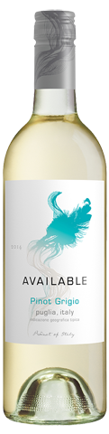 Available Pinot Grigio 2014