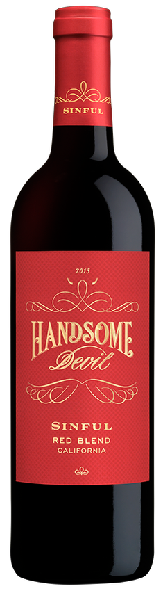 Handsome Devil Sinful Red Blend 2016