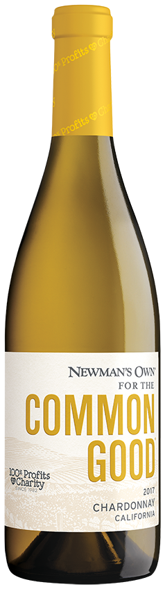 Newman's Own Common Good Chardonnay 2017