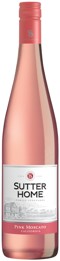 Sutter Home Pink Moscato 750 mL