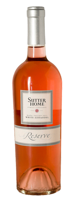 Sutter Home White Zinfandel Reserve 2016 750 mL