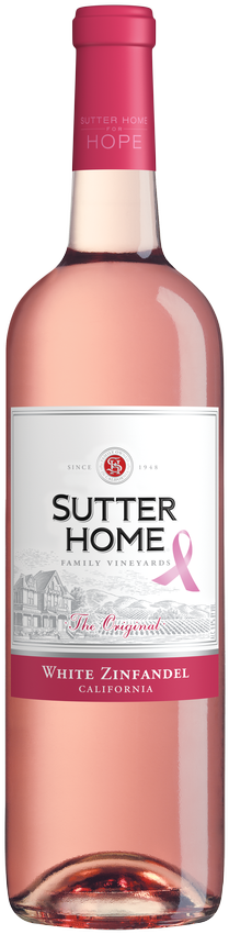 Sutter Home White Zinfandel SHFH 750 mL