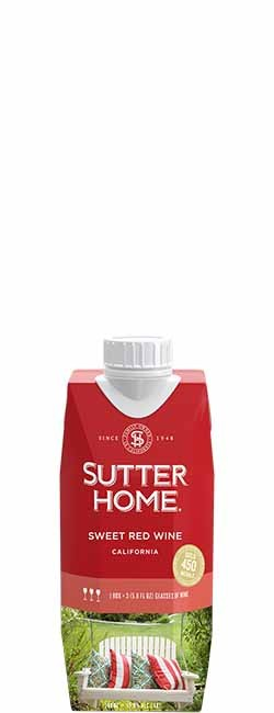 Sutter Home Sweet Red 500 mL Tetra Pak ®