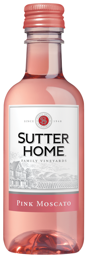 Sutter Home Pink Moscato 187 NP