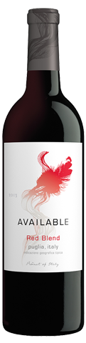 Available Red Blend 2013