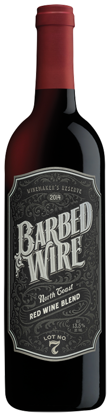 Barbed Wire Red Blend 2015