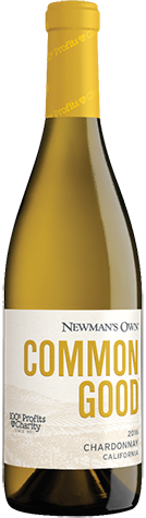 Newman's Own Common Good Chardonnay 2017 Image