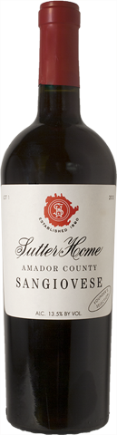 Sutter Home Retro Sangiovese 2013 750 mL Image