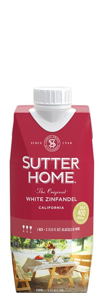 Sutter Home White Zinfandel 500mL Tetra Pak ®