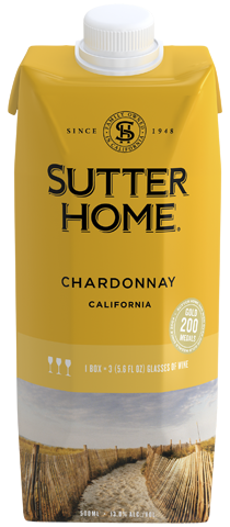 Sutter Home Chardonnay 500 mL Tetra Pack