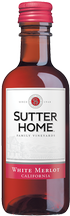 Sutter Home White Merlot 187 mL Image