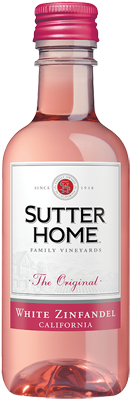 Sutter Home White Zinfandel 187 mL