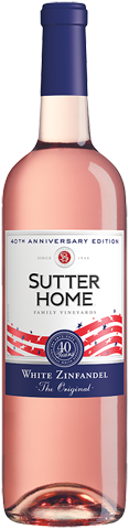 Sutter Home 40th Anniversary White Zinfandel 750ml