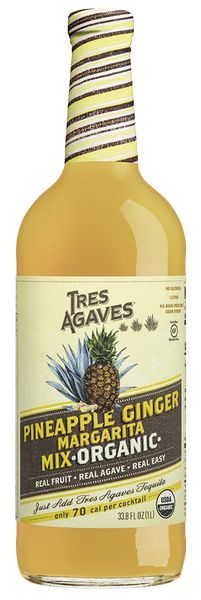 Tres Agaves Pineapple Ginger Mixer 1L