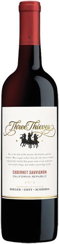Three Thieves Cabernet Sauvignon 2014