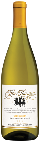 Three Thieves Chardonnay 2014