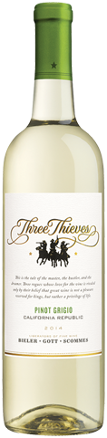 Three Thieves Pinot Grigio 2014