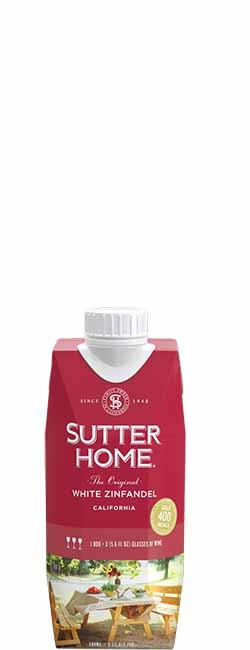 Sutter Home White Zinfandel 500 mL Tetra Pak ®