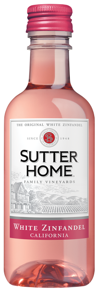 Sutter Home White Zinfandel 187ml NP