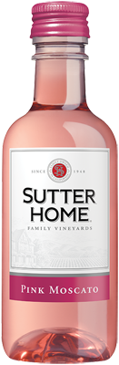 Sutter Home Pink Moscato 187 mL